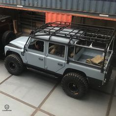 Preparing for test driving Tuesday! Bigfoot, AKA The Dobson. Landrover Defender, Land Rover Defender 130, Jeep Truck, 4x4 Trucks, Vw T3 Doka, Offroad And Motocross, Offroader, Expedition Vehicle, Jeep Gladiator