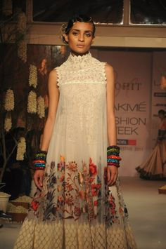Rohit Bal...I pinned this really bc of the model's bored look lol