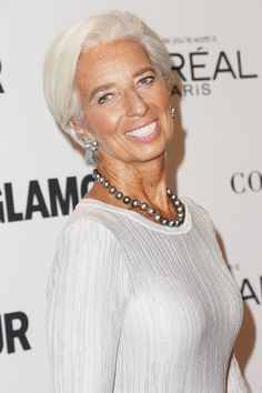 Christine Lagarde Photos Photos - Glamour Women of the Year 2016 - Arrivals - Zimbio
