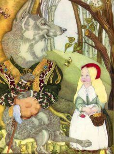 Adrienne Segur (1901 – 1981, French) Little Red Ridding Hood