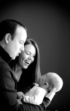 the perfect newborn family shot.