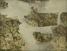 Richard Oelze, Vert (Green), Image courtesy of Michael Werner Gallery, New York. Max Ernst, The Darkest, Vintage World Maps, German, Artsy, Fine Art, Abstract, Gallery, Drawings