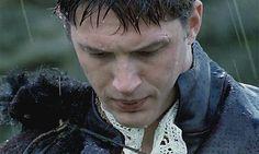 Tom Hardy as Robert Dudley... Tom Hardy + Rain = Perfection ♡