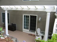 I so want a pergola over our deck!