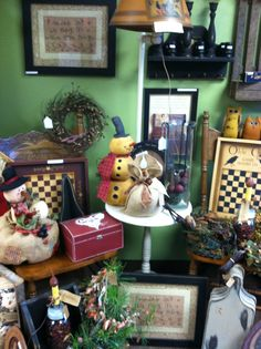 Rosi's Cottage carries a wide variety of winter and Christmas items. All can be found at 434 South Main St North Syracuse NY 13212
