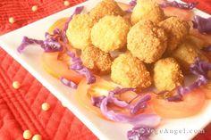 Deep-Fried Okara Balls 酥炸豆渣丸