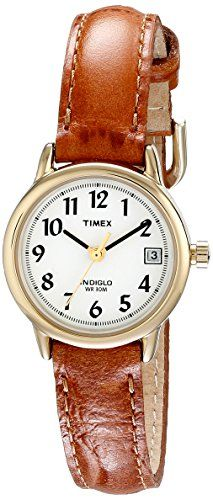 Timex Women's T2J761 Easy Reader Brown Leather Strap Casual Watch Timex http://smile.amazon.com/dp/B000UFUUW8/ref=cm_sw_r_pi_dp_Zcd1vb1STXYG0
