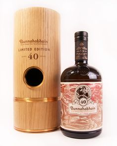 Bunnahabhain found it had some of the world's finest oak casks that were also filled with scotch that had been untouched for 40 years.  Only 212 bottles available in US