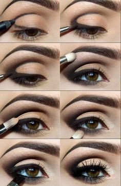 Яркие глаза