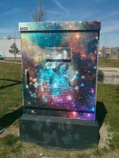 street art galaxy