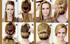 quick hairstyle in 3 minutes- wonderful diy31