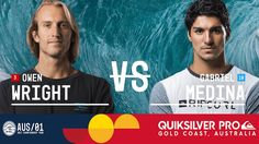 Owen Wright vs. Gabriel Medina - Quiksilver Pro Gold Coast 2017 Semifina...
