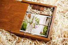 Wooden Box For Prints USB flashdrive 8 GB by LambAndRaccoon