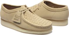 Supreme is back with Clarks once again for an updated Wallabee.