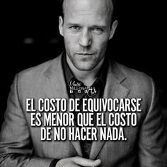 Quotes En Espanol, Millionaire Quotes, Clint Eastwood, Steve Jobs, Spanish Quotes, Life Motivation, Quote Posters, Positive Vibes, Life Lessons