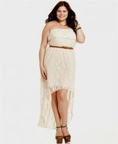 Awesome plus size high low lace dresses 2018-2019 Check more at http:/