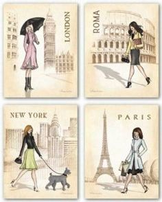 A lovely Paris Chic Bedroom is perfect for girls of all ages. From wee princess to college age and beyond there is something for everyone to ooohh...