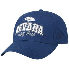 huge selection of f805f 042b8 Adult Top of the World Nevada Wolf Pack Advisor Adjustable Cap