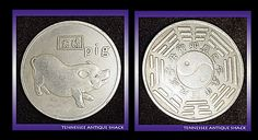 Chinese Year of the Boar Pig Commemorative Coin