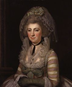 Hester Lynch Piozzi (née Salusbury; Mrs Thrale) by an unknown Italian artist, 1785-86