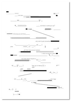 john_cage_drop_696 Graphisches Design, Book Design Layout, Graphic Score, Poesia Visual, Experimental Music, John Cage, Fluxus, Partition, Information Design