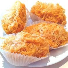 Bird's nest fried taro dumpling.