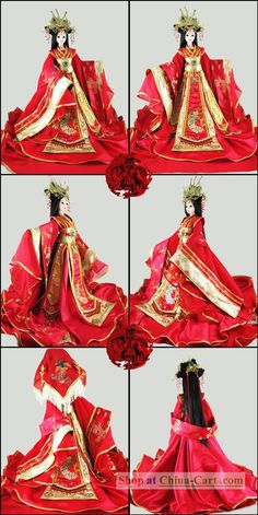 Ancient Chinese Princess Wedding Outfit