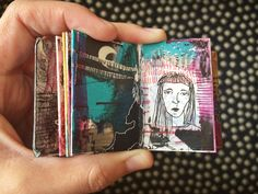 mini journal #4 - by bun blog - artist: Roxanne Coble A favorite from the inside.