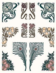 Ionas Closet: Still in Circulation: Art Nouveau Typographic Ornaments