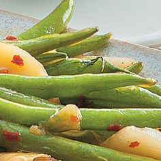 Stir-Fried Green Beans With Ginger and Water Chestnuts: Diabetes ...