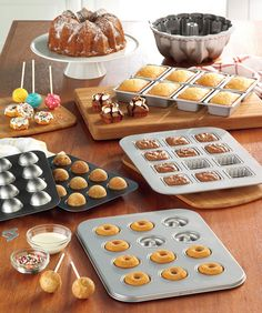 Find mini bakeware for mini desserts. #FoodNetwork #Kohls! These Cake-pop pans are the best!
