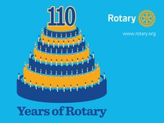 Today, February 23, marks the 110th anniversary of Rotary. Over our 110 years, Rotary members have created access to education, empowered communities, pushed polio to the brink of eradication and improved lives around the world. Help us celebrate our birthday by sharing your favorite Rotary memories on social media. Read more: http://ow.ly/Jhsfv