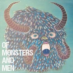 This cover  for Of Monsters and Men - Little Talks is both adorable and of scary at the same time. We like!