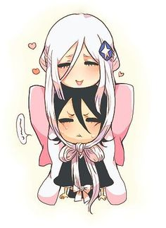 Bleach (Chibi): Kuchiki Rukia and Sode no Shirayuki