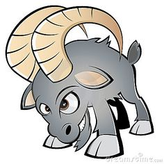 Illustration about Cartoon illustration of angry horned ram, isolated on white background. Illustration of horns, cartoon, sheep - 16018544 Angry Cartoon, Folded Arms, Inkscape Tutorials, Alice In Wonderland Characters, Goat Art, Airbrush Designs, Art Drawings Sketches Simple, Cool Cartoons, Character Concept
