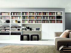 Libreria componibile LINK SYSTEM - Zalf