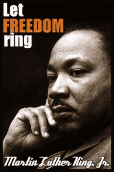 Let freedom ring...the resonance of his words live on in the hearts  many activists around the word