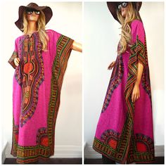 Bohemian Gypsy Caftan Maxi Dress by WashedUpVintage on Etsy, $78.00    MUST HAVE FOR SUMMER!!!!