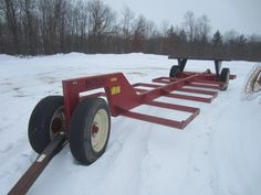 Notch Heavy Duty 12 Bale Bale Mover - Online Only Auction Ending Monday, February 16, 2015. Prairie Farm, WI. #auction #wisconsin