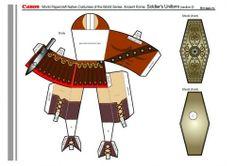 Knutselen Romeins soldaat deel 2