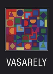 Victor Vasarely  invitation 1999