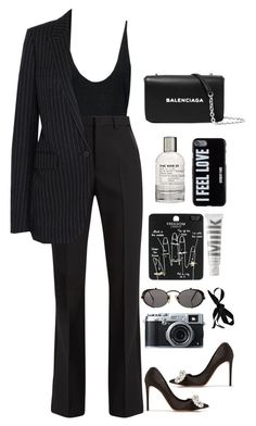 """the 3rd"" by millicent4 ❤ liked on Polyvore featuring Yves Saint Laurent, Alexander McQueen, Balenciaga, Givenchy, Topshop, MILK MAKEUP, Le Labo, Jean-Paul Gaultier, Marni and Fujifilm"