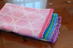 Petals to Picots Crochet: Quick and Easy Crocheted Blanket Edging Patterns, free!