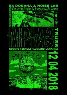 michele nannini X Noise Lab & Ex-Dogana present Graphic Design Posters, Graphic Design Inspiration, Arte Horror, Photoshop, Typography Poster, Grafik Design, Looks Cool, Vaporwave, Cyberpunk