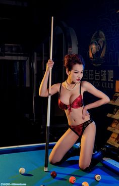 Boba lingerie beauty billiards