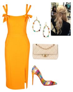 """""""Untitled #891"""" by lovelifesdreams on Polyvore featuring Christian Louboutin, Rebecca Vallance, Chanel and Ippolita"""