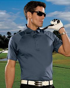 Another great sport shirt from Adidas using its newest ClimaCool technique, the Adidas A63 Men's ClimaCool Motion Mesh Polo is a great news for those ones who want to look athletic and casual.