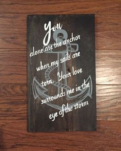 A personal favorite from my Etsy shop https://www.etsy.com/listing/466895312/eye-of-the-storm-wood-sign-handcrafted