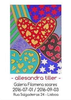 Allesandra Tiller - Ausstellungsplakate - Dekorative Kunst für jeden Geldbeutel.