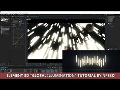 "ELEMENT 3D ""GLOBAL ILLUMINATION"" TUTORIAL BY NPS3D - YouTube"